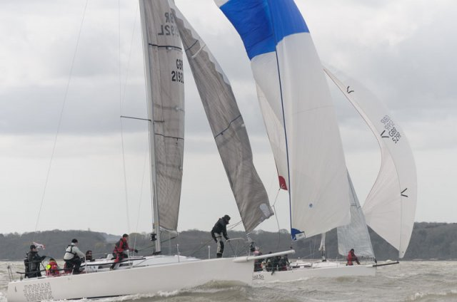Warsash Spring Series. Photos by Iain McLuckie
