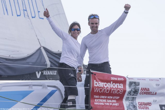 2nd and 3rd Place Barcelona Race. Photos by Gilles Martin-Raget