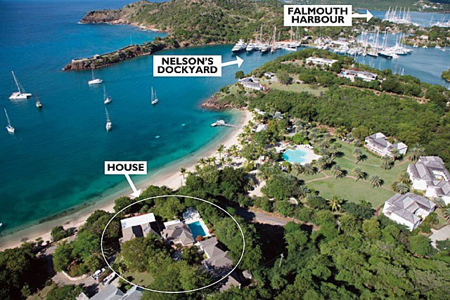 Antigua property rental email sally@oysterproperties.com