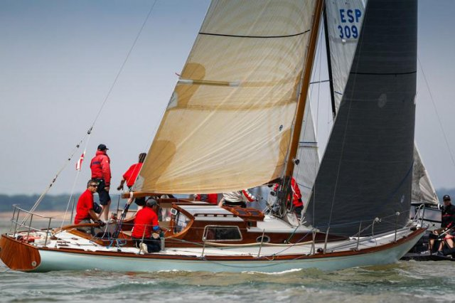 Giovanni Belgrano's 1939 Laurent Giles classic, Whooper Photo by Paul Wyeth/pwpictures.com