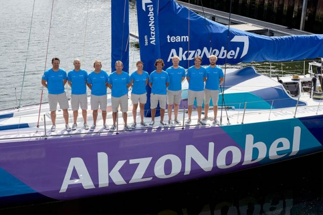 Akzo Nobel VOR Launch