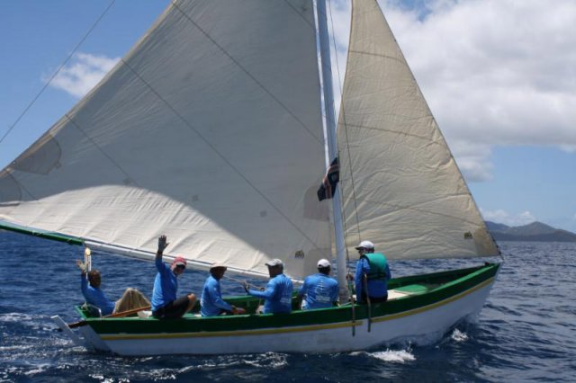 Sloop Youth Instructor. Photo by Christophe Courau