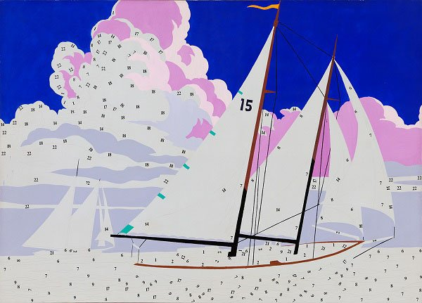 Andy Warhol, Do It Yourself (Sailboat)