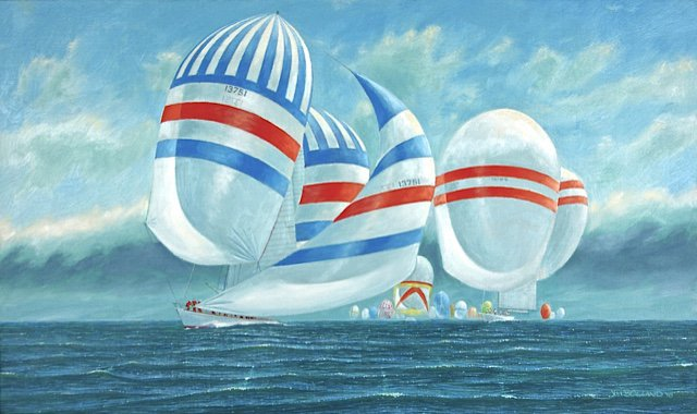 A Brush With Sail. Jim Bolland.