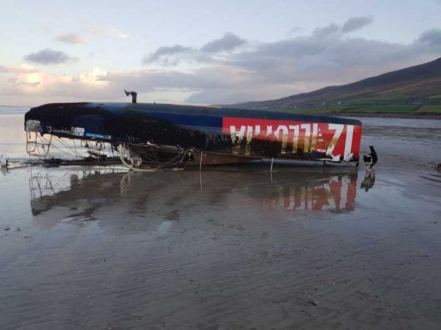 OSTAR Yacht washes up