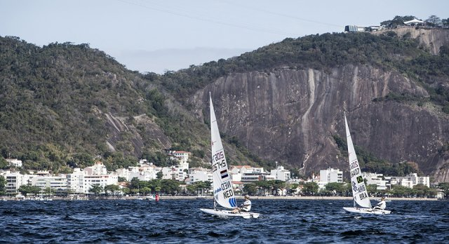 Rio Test Event Medal Races. Photos by Richard Langdon