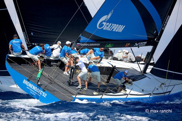 TP52 Worlds August 28. Photos by Max Ranchi