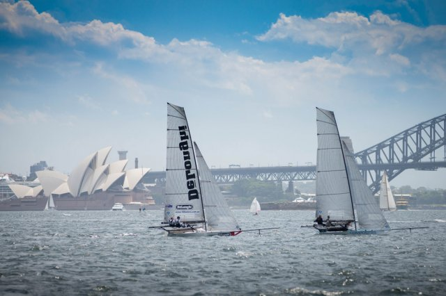 Skiffs in Sydney