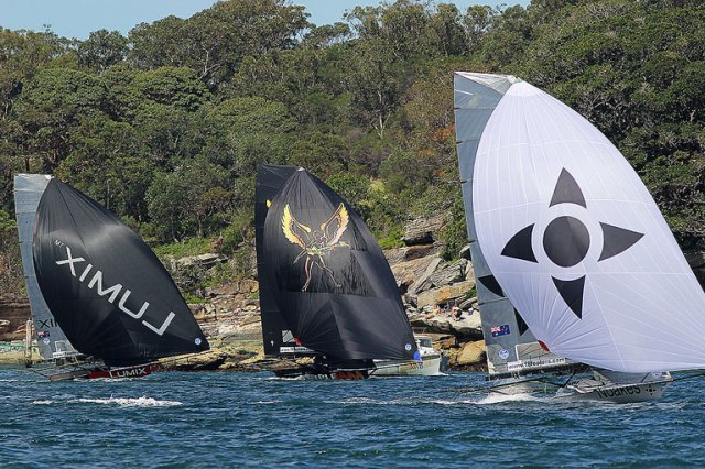 18ft Skiffs NSW Championship, Race 2