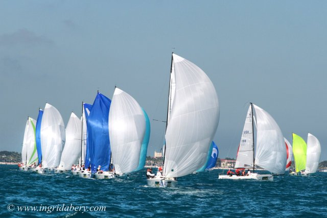 Key West Race Week Jan 21. Photo by Ingrid Abery.