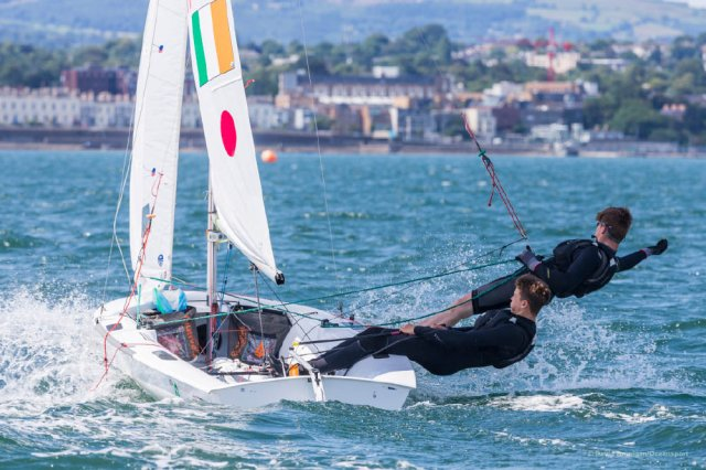 Volvo Dun Laoghaire Regatta. Photos by Dave Branigan