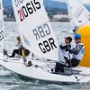 Laser Radial Worlds. Photo by David Branigan, oceansport.ie