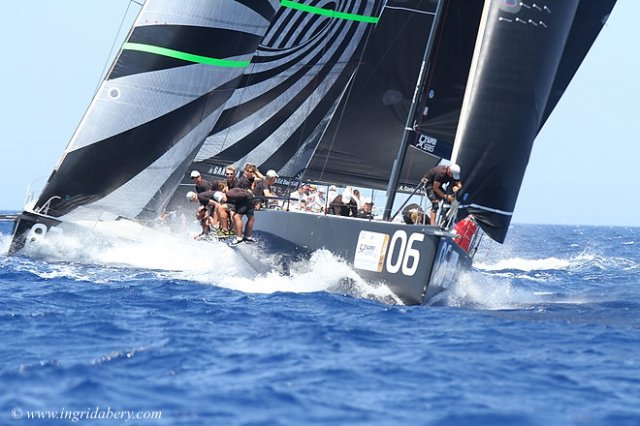TP52 Porto Cervo Final. Photos by Ingrid Abery
