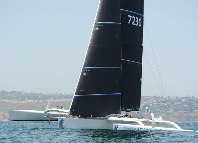 Transpac Final Start. Photos by Doug Gifford/Ultimate Sailing