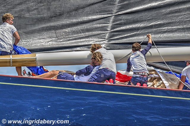 JClass at the Superyacht Regatta. Photos by Ingrid Abery