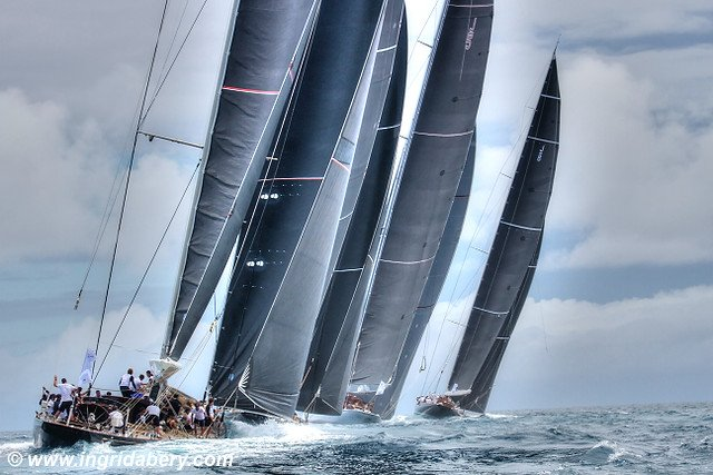 JClass Superyacht Regatta. Photos by Ingrid Abery