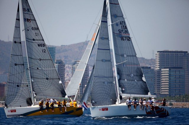 ORC Worlds Practice Race. Photos by Max Ranchi