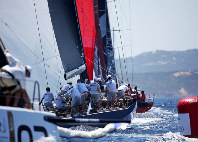 TP52 Porto Cervo. Photos by Max Ranchi