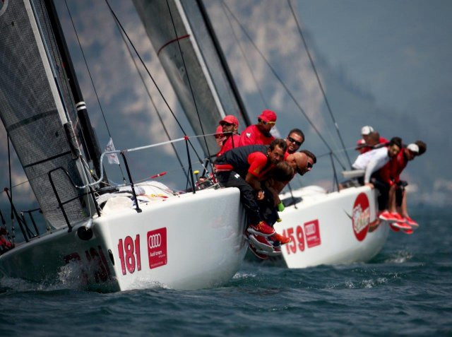 Melges 32 Garda. Photos by Max Ranchi
