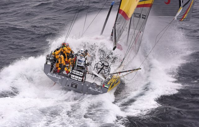 VOR fleet around Cape Horn. Photos by Rick Tomlinson / Volvo Ocean Race
