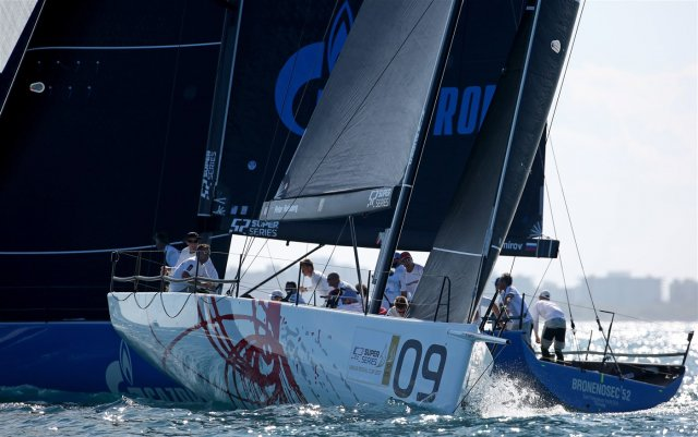 TP52 at Miami March 9. Photos by Max Ranchi