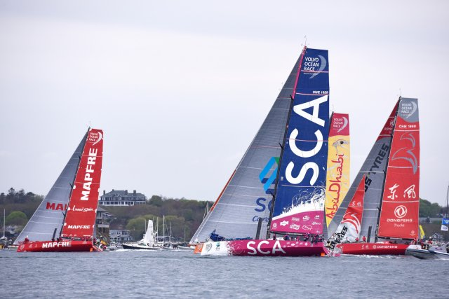 VOR Newport Inport Race. Photos by Rick Tomlinson / SCA
