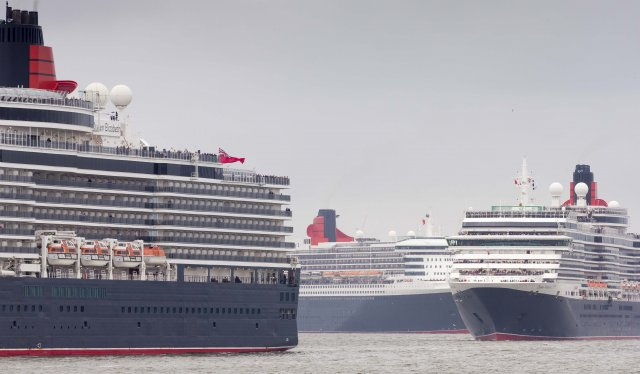 Cunard 175th Anniversary. Photos by Christopher Ison