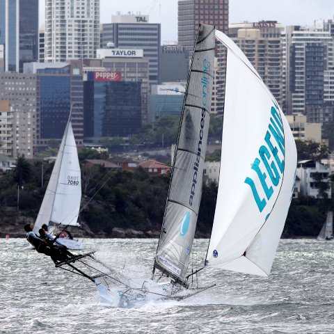 18 Skiffs NSW2. Photos by Frank Quealey