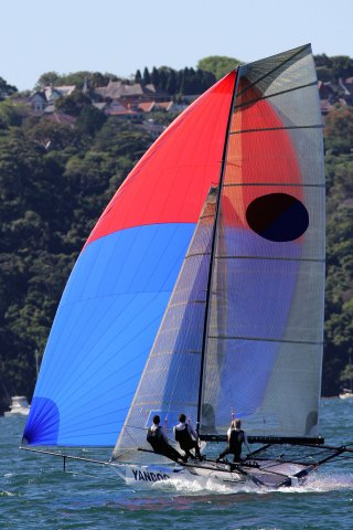 18ft Skiffs Mick Scully Memorial Trophy