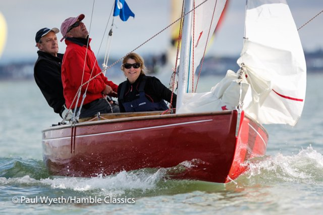 Hamble Classics. Photos by Paul Wyeth