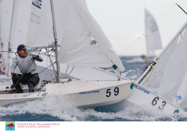 Snipe Worlds Race 6. Photos by Matias Capizzano