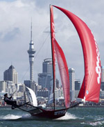 Maersk Line 18ft Skiff Anzac Championship