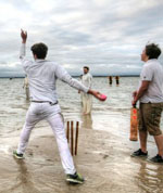 Bramble Bank cricket match
